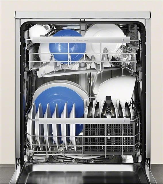Zmywarka z naczyniami