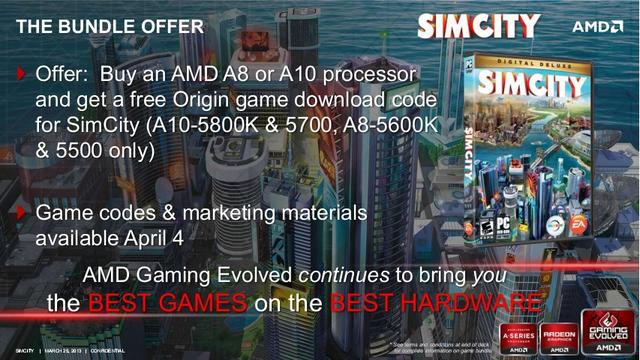 Dzięki firmie AMD stanowisko burmistrza SimCity jeszcze nigdy nie było tak ekscytujące!