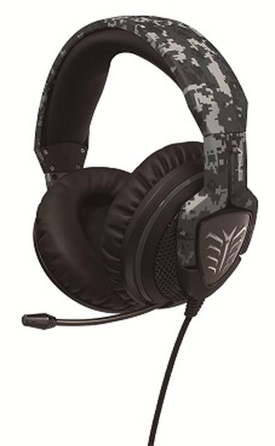 Militarne słuchawki dla entuzjastów gier komputerowych