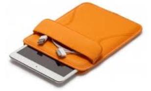 Dicota Tab Case 8.9 EVA e-book and tablet - pianka EVA (ORANGE)