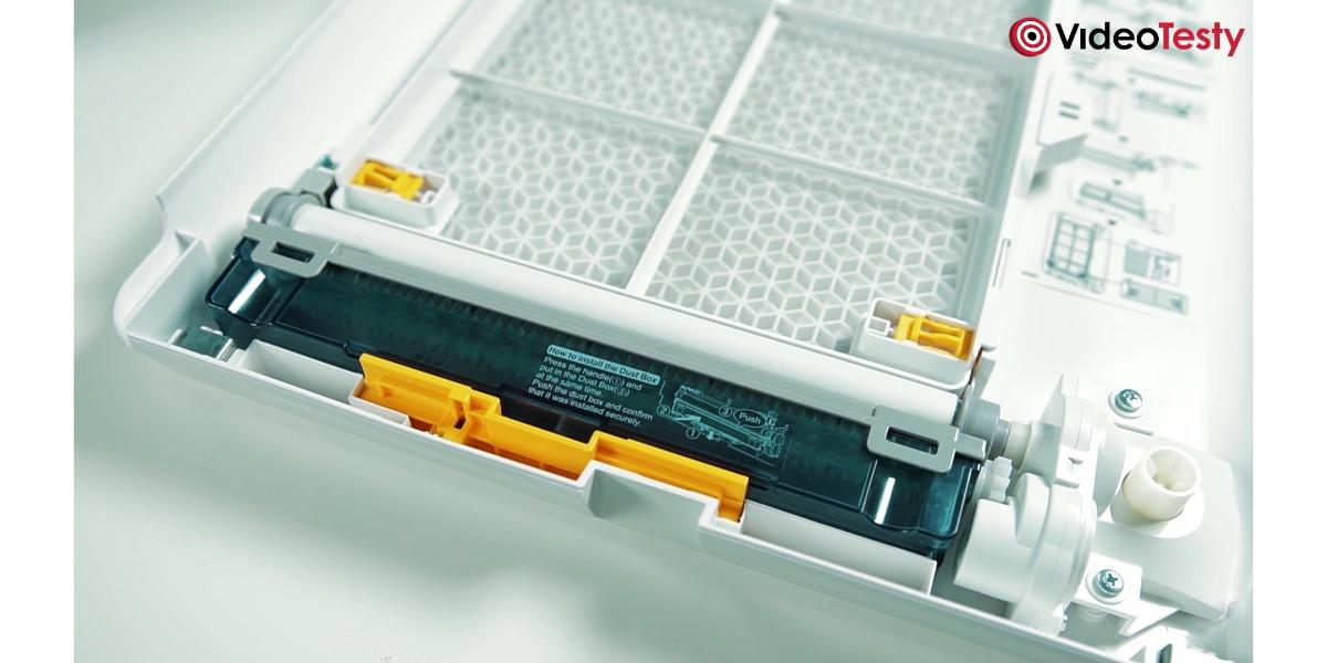 SHARP KI-G75EUW - mechanizm filtra wstępnego