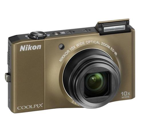 NIKON COOLPIX S8000 (BRĄZOWY)