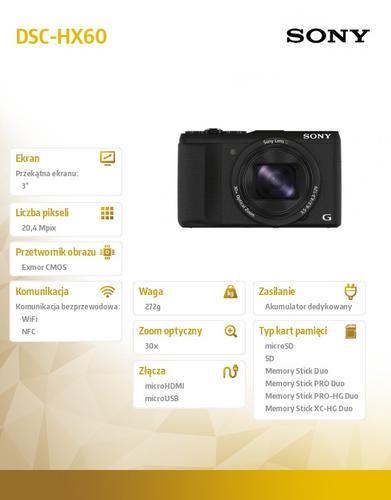 Sony DSC-HX60 black