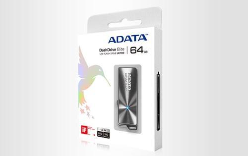 A-Data Dashdrive Elite UE700 64GB USB3.0 Aluminium 200MB / 100MB