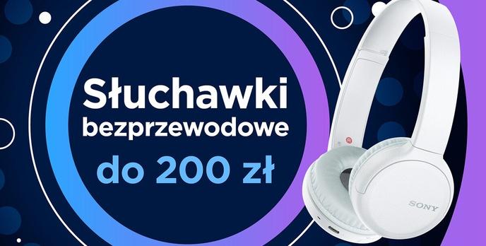 Jakie bezprzewodowe słuchawki nauszne do 200 złotych? |TOP 5|