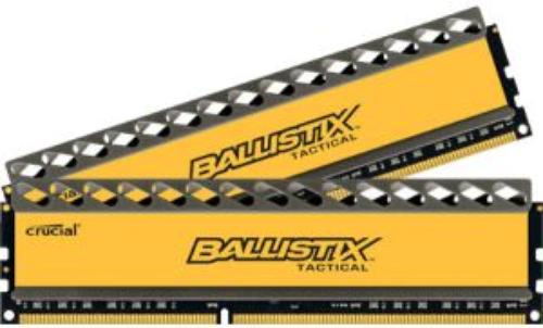 Crucial DDR3 Ballistix Tactical 16GB/1600 (2*8GB) CL8-8-8-24