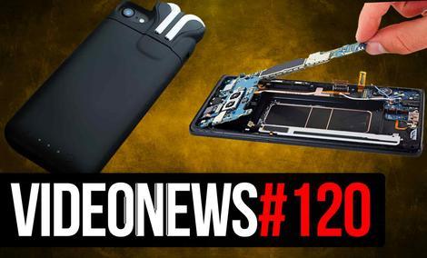 Nienaprawialny Note8, Samsung ci Zapłaci, Bateria z Wody - VideoNews#120