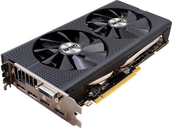 Sapphire AMD RX 470 NITRO+ 4GB GDDR5 (256 Bit) DVI, 2xHDMI, 2xDP, BOX