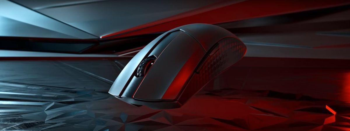 Design myszy MSI Clutch Wireless