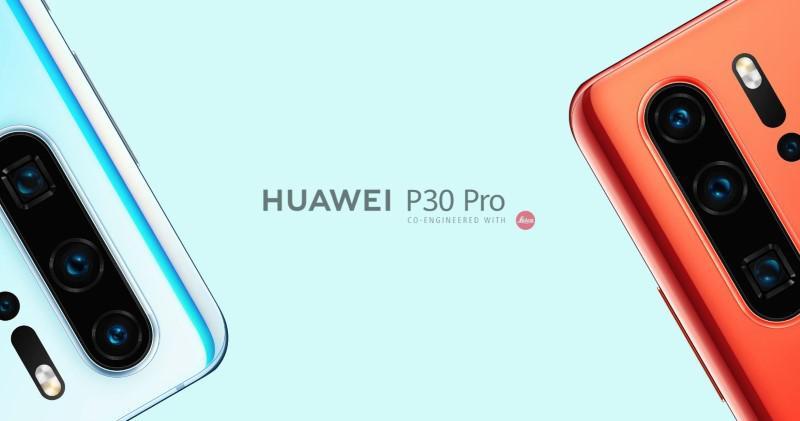 Huawei P30 Pro wyposażono w cztery aparaty