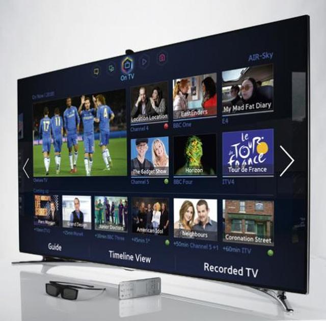 Samsung UE55F8000 - luskusowy 55-calowy telewizor