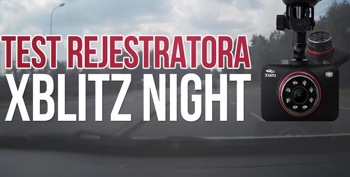 Recenzja Rejestratora Samochodowego Xblitz Night