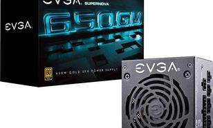 EVGA SuperNOVA 650 GM SFX, 650W, 80 PLUS Gold, modularny