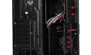 Thermaltake V3 Black Edition Window HDD Dock (120mm, LED), czarna
