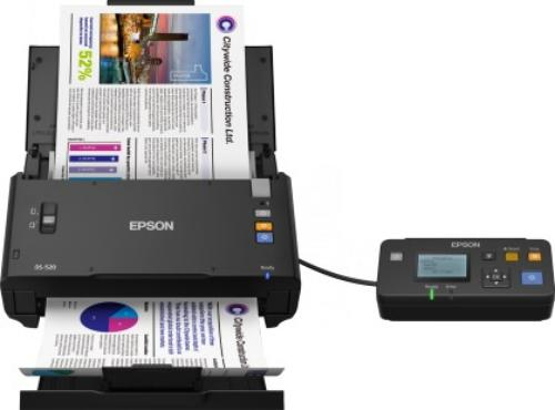 Epson Skaner WorkForce DS-520N A4/LAN/ADF50/60IPM@1passDup