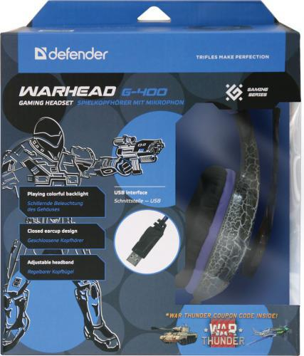Defender Warhead G-400 USB GAMING (64145)