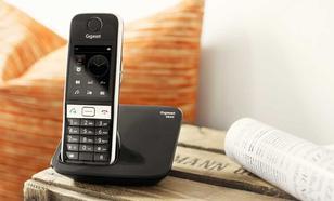 Siemens Gigaset S820A - Dotykowy Telefon Stacjonarny