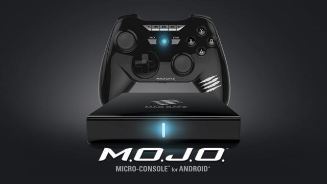 Mad Catz M.O.J.O. - konsola do gier Android