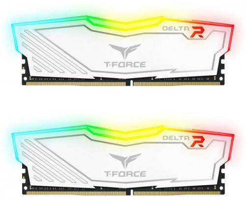 Team Group Delta RGB DDR4, 2x4GB, 3000MHz, CL16 (TF4D48G3000HC16CDC01)