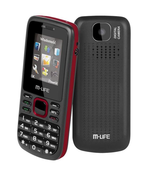 Telefon M-LIFE – dla tych, którzy szukają funkcjonalności w nieskomplikowanych rozwiązaniach