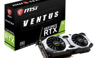 MSI GeForce RTX 2080 Ti VENTUS 11G OC 11GB GDDR6 352bit