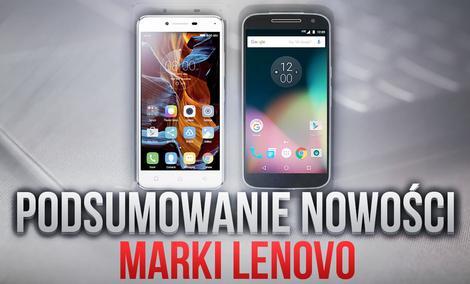 Podsumowanie Nowości Marki Lenovo