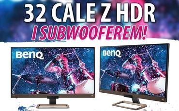 Test BenQ EW3280U - Monitor z HDR i subwooferem