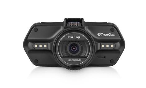 Rejestrator TrueCam A5 Podczas Nocnej Jazdy