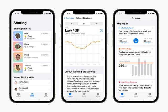 Apple chce jeszcze więcej wiedzieć o naszym zdrowiu