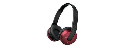 Sony Słuchawki bezprzewodowe MDR-ZX550BN czerwone