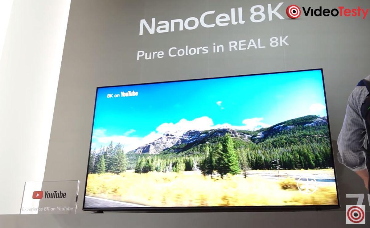 Nowe telewizory Nano Cell 8k na CES 2020