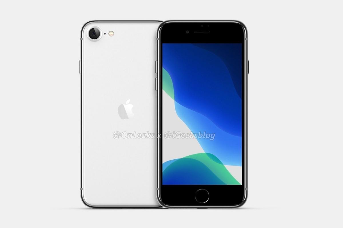 iPhone SE2 albo iPhone 9 ma się nie spóźnić (źródło: Onleaks)