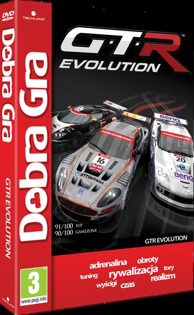 Nowość w serii Dobra Gra - GTR Evolution