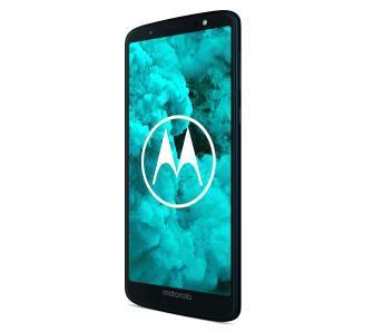 Motorola Moto G6 Plus 4GB (granatowy) + etui