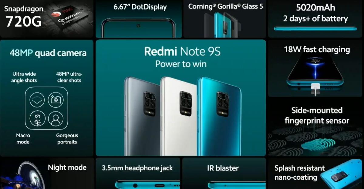 Redmi Note 9S oferuje sporo możliwości jak na telefon ze średniej półki