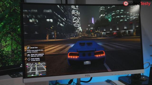 Ekran w GTA V - TCL T24M6C