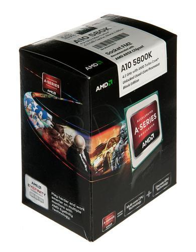 AMD APU A10-5800k 3.8GHz BOX (FM2) BE