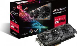 Asus Radeon RX 580 ROG Strix GAMING OC 8GB GDDR5 (256 bit), DVI-D, 2xHDMI, 2xDisplayPort, BOX (ROG-STRIX-RX580-O8G-GAMING)