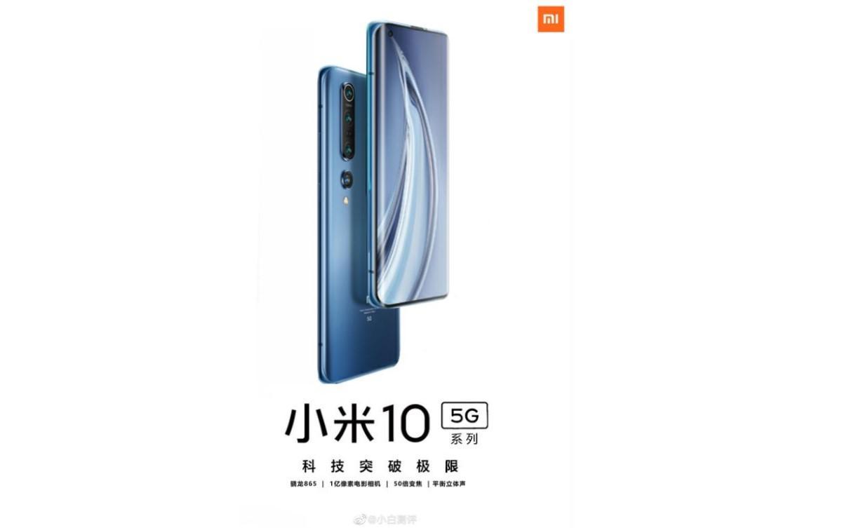 Plakat Xiaomi Mi 10 Pro 5G