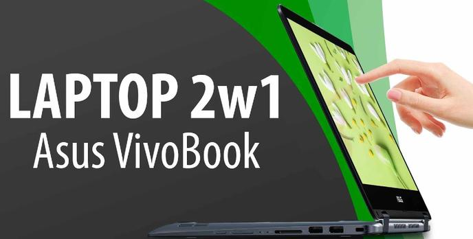 ASUS VivoBook Flip 14 - Mały i stylowy laptop mobilny