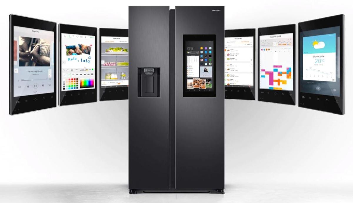 Inteligentne lodówki Samsung Family Hub z wbudowanym ekranem dotykowym zmienią Twoją lodówkę w nowoczesne centrum dowodzenia.