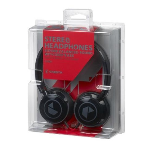 Cresyn C250H Czarne słuchawki nauszne