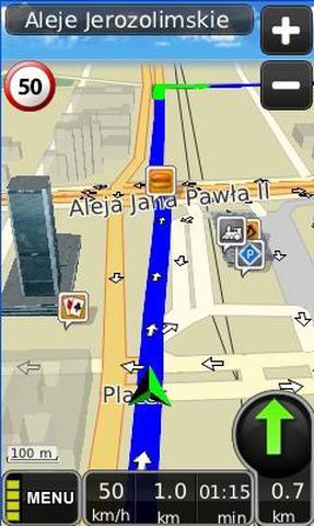 Nowa MapaMap dla Androida
