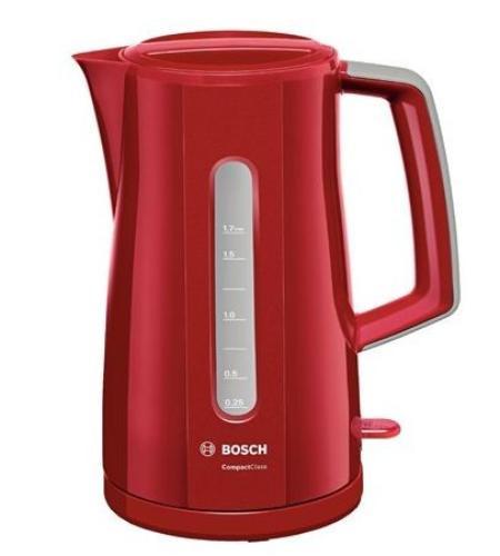 Bosch Czajnik 1,7l czerwony TWK 3A014