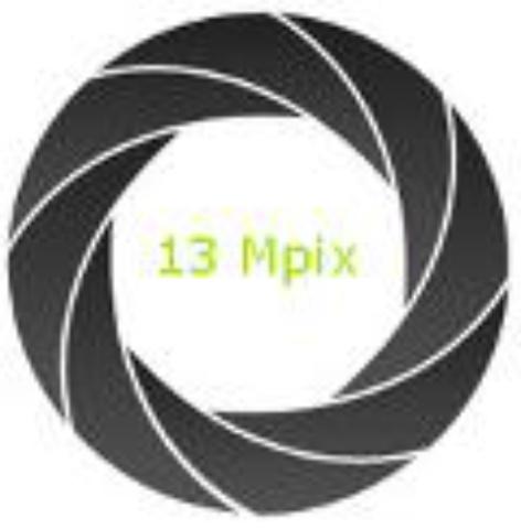 Aparat fotograficzny 13 Mpix