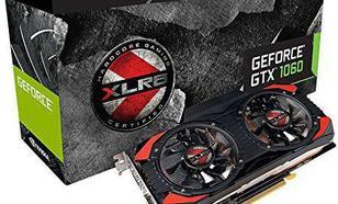 PNY Technologies GeForce GTX 1060 XLR8 OC GAMING 6GB GDDR5 (192 Bit) HDMI, DVI, 3xDP, BOX (KF1060GTXXG6GEPB)