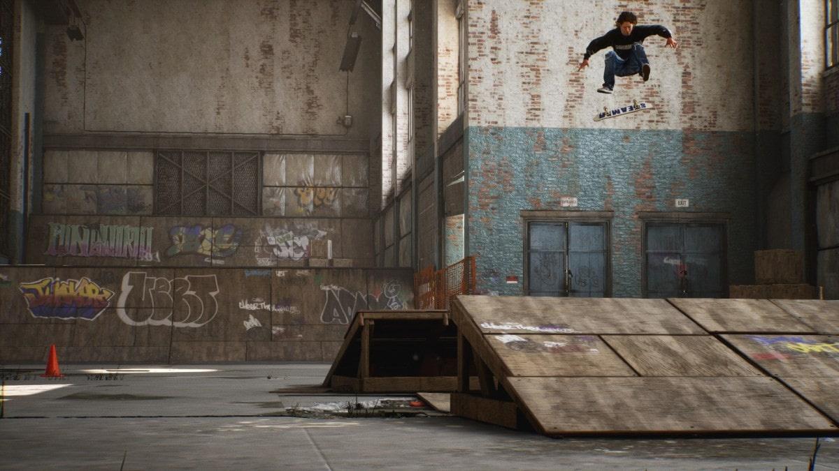 Grafika z odświeżonej wersji pierwszych dwóch części Tony Hawk's Pro Skater