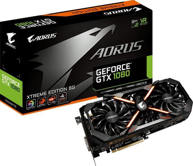 Gigabyte Aorus GeForce GTX 1080 Extreme 8GB
