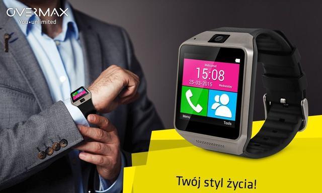 Overmax Touch - Niedrogi, Ale Funkcjonalny Smartwatch