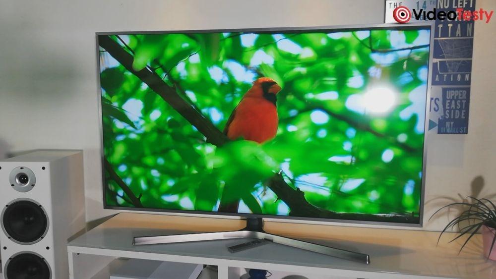 Samsung UE55NU7472 naturalność kolorów